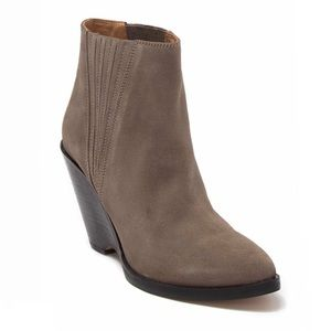 SEYCHELLES TAUPE PARK SUEDE WEDGE BOOT